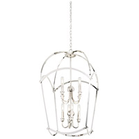 Minka-Lavery 4778-613 Jupiters Canopy 8 Light 20 inch Polished Nickel Pendant Ceiling Light