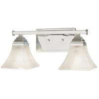 Minka-Lavery 4782-77 Conspire 2 Light 17 inch Chrome Bath Bar Wall Light
