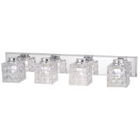 Minka-Lavery 4794-77-L Glorietta LED 32 inch Chrome Bath Light Wall Light