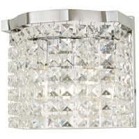 Minka-Lavery 4802-77 Concentus 2 Light 9 inch Chrome Bath Light Wall Light