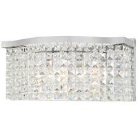 Minka-Lavery 4803-77 Concentus 3 Light 17 inch Chrome Bath Bar Wall Light
