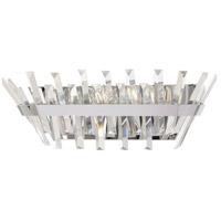 Minka-Lavery 4813-77 Echo Radiance 4 Light 21 inch Chrome Bath Bar Wall Light