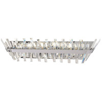 Minka-Lavery 4815-77 Echo Radiance 8 Light 31 inch Chrome Bath Bar Wall Light