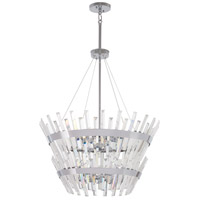 Echo Radiance 14 Light 25 inch Chrome Chandelier Ceiling Light
