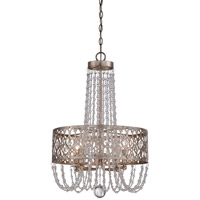 Minka-Lavery Lucero 4 Light Chandelier in Florentine Silver 4844-276