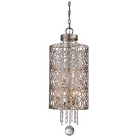 Lucero 6 Light 12 inch Florentine Silver Pendant Ceiling Light