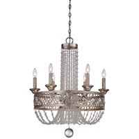 Minka-Lavery Lucero 9 Light Chandelier in Florentine Silver 4848-276