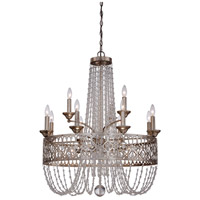 Lucero 15 Light 31 inch Florentine Silver Chandelier Ceiling Light