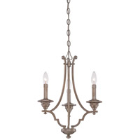 Minka-Lavery Wellington Ave 3 Light Mini Chandelier in Midnight Gold 4863-279