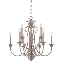 Wellington Ave 6 Light 27 inch Midnight Gold Chandelier Ceiling Light