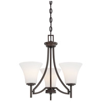 Middlebrook 3 Light 18 inch Vintage Bronze Mini Chandelier Ceiling Light