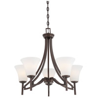 Middlebrook 5 Light 25 inch Vintage Bronze Chandelier Ceiling Light