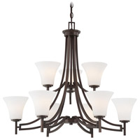 Middlebrook 9 Light 32 inch Vintage Bronze Chandelier Ceiling Light