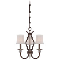 Minka-Lavery Thorndale 3 Light Mini Chandelier in Dark Noble Bronze 4943-570