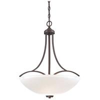 Minka-Lavery 4964-284 Overland Park 3 Light 22 inch Vintage Bronze Pendant Ceiling Light
