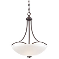 Overland Park 3 Light 22 inch Vintage Bronze Pendant Ceiling Light