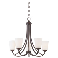 Minka-Lavery 4965-284 Overland Park 5 Light 26 inch Vintage Bronze Chandelier Ceiling Light