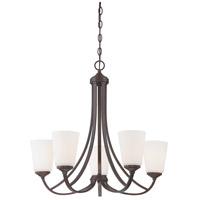 Minka-Lavery 4965-284 Overland Park 5 Light 26 inch Vintage Bronze Chandelier Ceiling Light