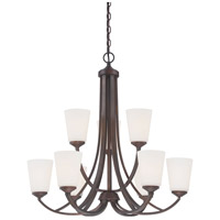 Minka-Lavery 4969-284 Overland Park 9 Light 30 inch Vintage Bronze Chandelier Ceiling Light