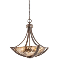 Minka-Lavery La Bohem 3 Light Pendant in Monarch Bronze 4993-271