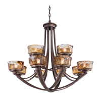 La Bohem 13 Light 36 inch Monarch Bronze Chandelier Ceiling Light