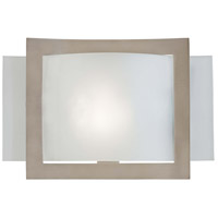 Minka-Lavery Signature 1 Light Sconce in Brushed Nickel 505-84-PL photo thumbnail