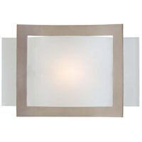 Minka-Lavery Signature 1 Light Sconce in Brushed Nickel 505-84