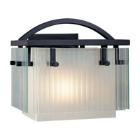 Minka-Lavery Panels 1 Light Bath in Black 5121-066
