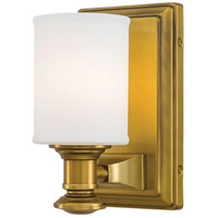 Harbour Point 1 Light 5 inch Liberty Gold Bath Bar Wall Light