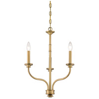 Minka-Lavery Harbour Point 3 Light Mini Chandelier in Liberty Gold Finish 5177-249
