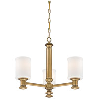 Minka-Lavery Harbour Point 3 Light Chandelier in Liberty Gold 5178-249