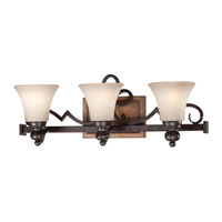 Minka-Lavery Preston Ridge 3 Light Bath in Royal Oak Patina 5183-282