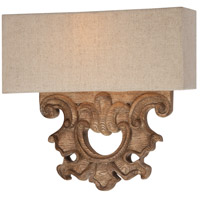 Abbott Place 2 Light 12 inch Classic Oak Patina ADA Wall Sconce Wall Light