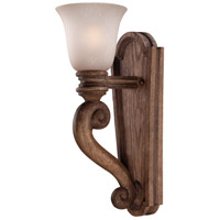 Minka-Lavery Abbott Place 1 Light Sconce in Classic Oak Patina 5207-290