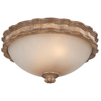 Minka-Lavery Abbott Place 2 Light Flushmount in Classic Oak Patina 5209-290