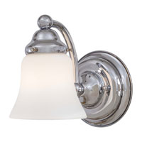 Covington Manor 1 Light 5 inch Chrome Bath Wall Light