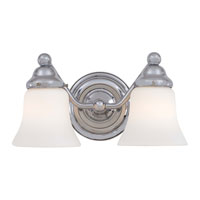 Minka-Lavery Covington Manor 2 Light Bath in Chrome 5252-77