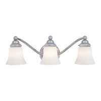 Minka-Lavery Covington Manor 3 Light Bath in Chrome 5253-77