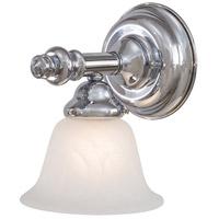 Minka-Lavery 5271-77 Richlieu 1 Light 6 inch Chrome Bath Light Wall Light
