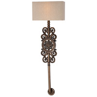 Regents Row 2 Light 12 inch Regents Patina ADA Wall Bracket Wall Light