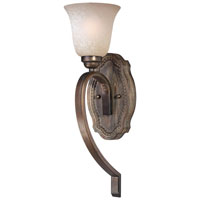 Minka-Lavery Regents Row 1 Light Sconce in Regents Patina 5311-299