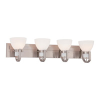 Minka Lavery Hudson Bay 4 Light Bath Light in Brushed Nickel 5384-84
