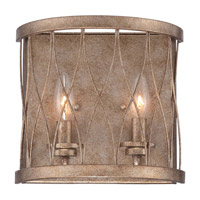 West Liberty 2 Light 10 inch Olympus Gold Bath Light Wall Light