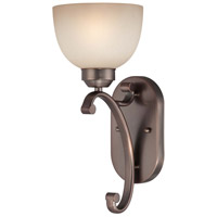 Paradox 1 Light 6 inch Harvard Court Bronze Plated Wall Sconce Wall Light