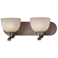Paradox 2 Light 18 inch Harvard Court Bronze Plated Bath Bar Wall Light