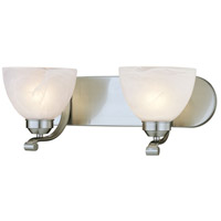 Paradox 2 Light 18 inch Brushed Nickel Bath Bar Wall Light