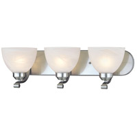 Paradox 3 Light 24 inch Brushed Nickel Bath Wall Light in Incandescent