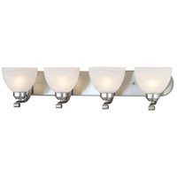 Minka-Lavery 5424-84 Paradox 4 Light 30 inch Brushed Nickel Bath Bar Wall Light