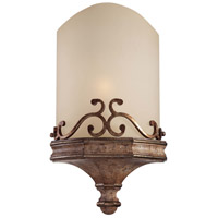Minka-Lavery Cornerstone 1 Light Wall Sconce in Pierre Patina 5470-562