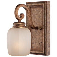 Minka-Lavery Cornerstone 1 Light Bath in Pierre Patina 5471-562
